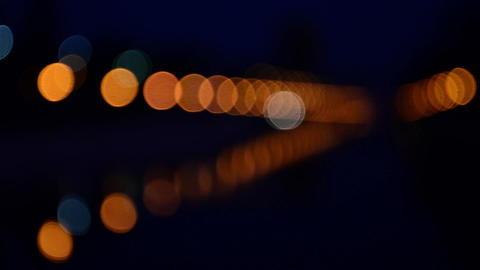 Lights from cars to light bulbs and street lighting 26 Stock Video Footage