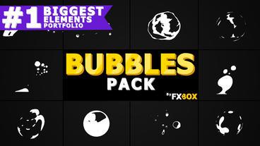 Flash FX BUBBLE Elements Premiere Pro Template