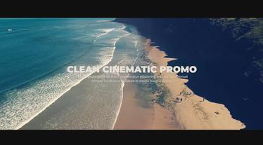 Clean Cinematic Promo Premiere Pro Template