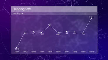 Bars and graph After Effects Template