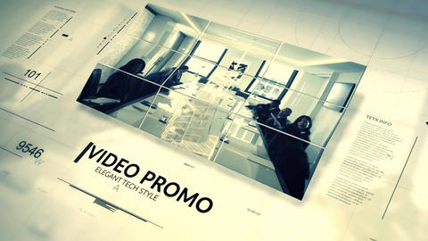 Tech Style Promo After Effects Template