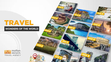 Travel Agency Plantilla de After Effects