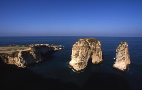 Raouché, Beirut, Lebanon フォト