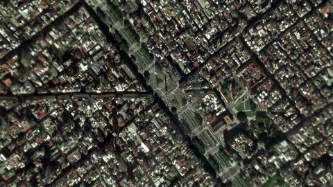 Earth Zoom In Zoom Out Buenos Aires Argentina Footage