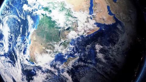 Earth Zoom In Zoom Out Dar es Salaam Tanzania Footage