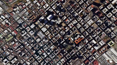 Earth Zoom In Zoom Out Johannesburg South Africa Footage