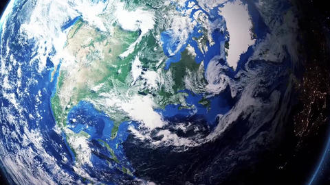 Earth Zoom In Zoom Out Ottawa Canada Footage