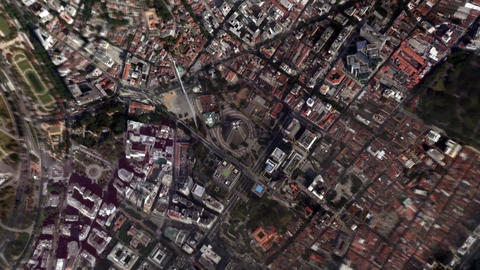 Earth Zoom In Zoom Out Rio de Janeiro Brazil Live Action