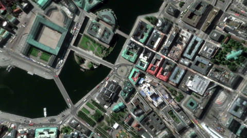 Earth Zoom In Zoom Out Stockholm Sweden Footage