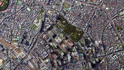 Earth Zoom In Zoom Out Tokyo Japan Footage
