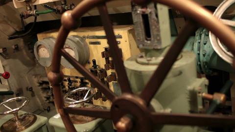 navigator rotates steering wheel depth Footage