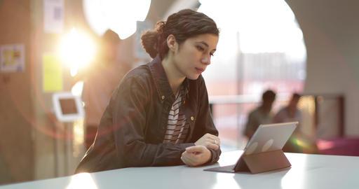 Millennials using technology Footage