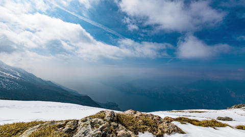 clouds, crepuscular, hdr, italy, lake, light, mountains, nature, rays, sky, Footage