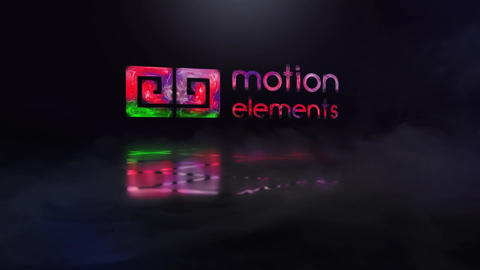 Color Glitch Logo Reveal After Effects Template