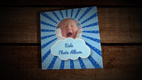 Kids Photo Album After Effects Template