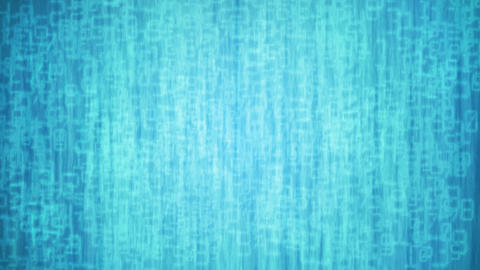 Blue digital background Animation