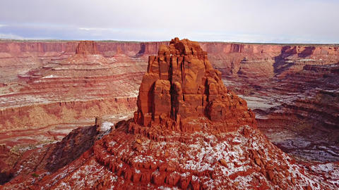 Amazing Rock Formations in Utah Live Action