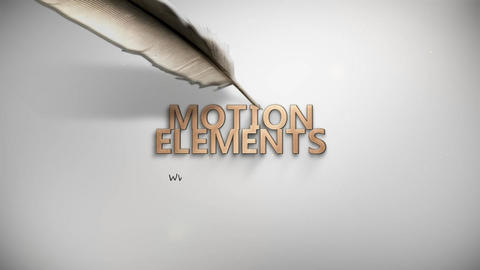 Drawing Pen Logo Minima ME v2 After Effects Template