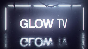 Glow TV After Effectsテンプレート