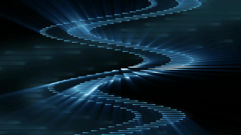 Abstract Techno Background Blue Footage
