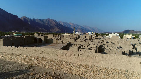 Nizwa Fort Castle. The Nizwa Fort is a massive castle in Nizwa, Oman. It is Live Action