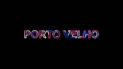 Letters are collected in city PORTO VELHO, then scattered into strips. Alpha Animation