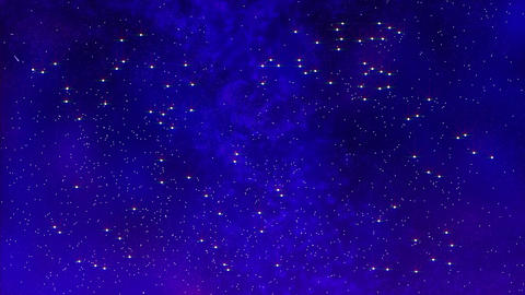 starry night background Stock Video Footage