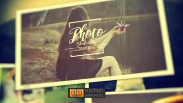 Photo Slideshow 4 After Effects Template