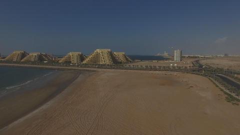 Hotel Resort and Spa Marjan Island, UAE - Resort Aerial View Footage