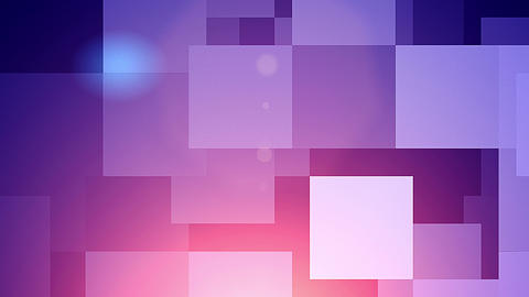 Holographic Twinkling Squares Background Animation