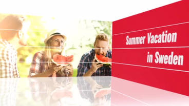 Red Slideshow After Effects Template
