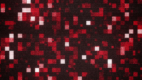 Blurred Sparkling Mosaic Squares Backdrop Animation