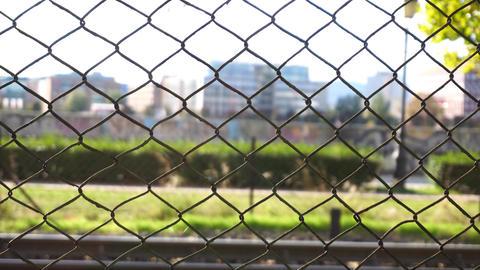Urban fence Footage