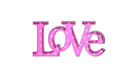 Love Sign Rotating Animation