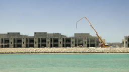 Construction Site in Middle East Time lapse Archivo