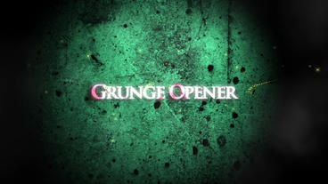 Grunge Opener After Effects Template
