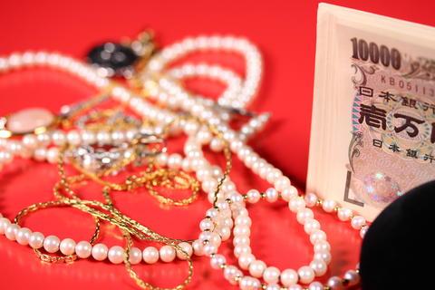 お金と宝飾品 フォト