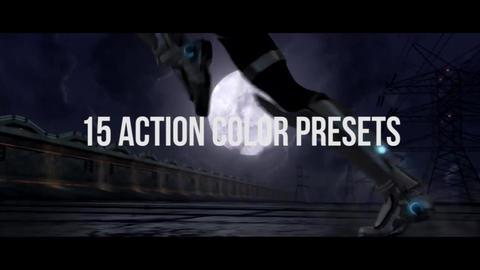 Action & Urban Color Presets Premiere Pro Template