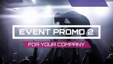 Event Promo 2 After Effects Template