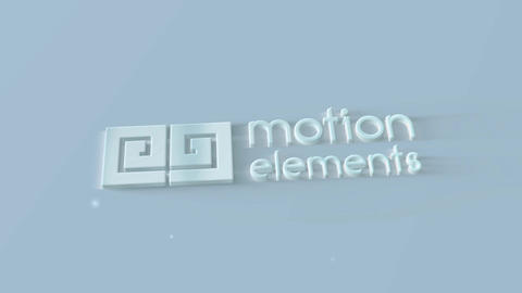 Clean Light Logo After Effects Template