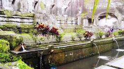 View of Gunung Kawi Temple,Bali Videos de Stock