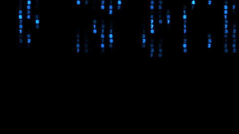 The binary code Stock Video Footage