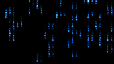 The binary code Animation