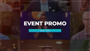Event Promo 프리미어 프로 템플릿