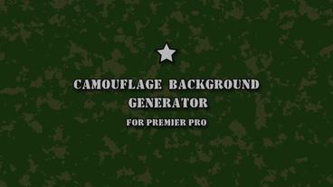 Сamouflage background generator Motion Graphics Template