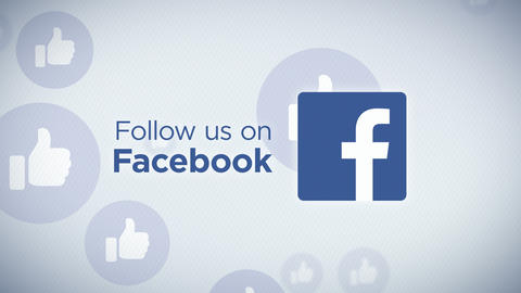 Follow Us On Facebook Loop Animation