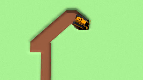 Bulldozer Animation