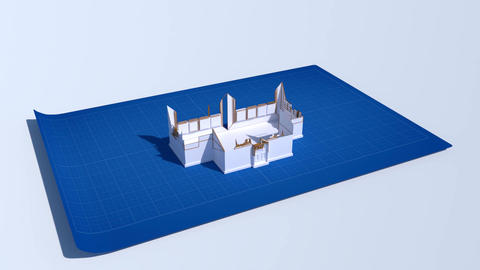 House Build Animation