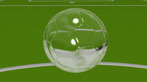 Crystal Soccer Ball Animation