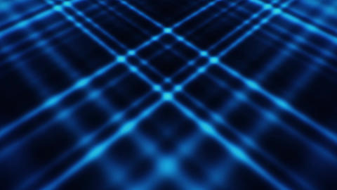 Blue Abstract Crossing Lines Animated Loopable Background Animation